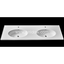 Pure acrylic embeded basin for bathroom cabinet