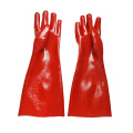 Red Interlock Liner smooth  finish glove.35cm