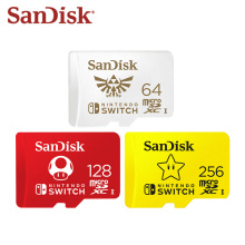 SanDisk New Micro SD Card 256GB 128GB 64GB micro SDXC UHS-I Memory Card for Nintendo Switch TF Card up to 100MB/s Flash Card