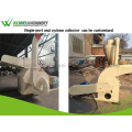 Weiwei woodworking waste wood sawdust making machinery