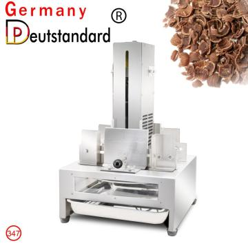 chocolate shaving machine chocolate cutting