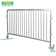 Cheap Pedestrian Used Galvanized Metal Crowd Control Barrier