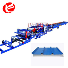 Eps  sandwich panels roll forming machine