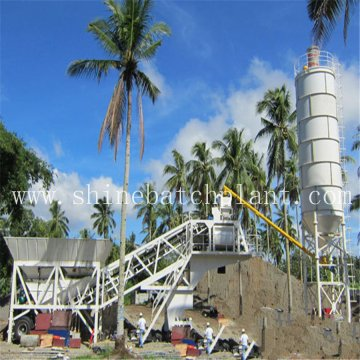 20 Construction Portable Mobile Concrete Batching Plant