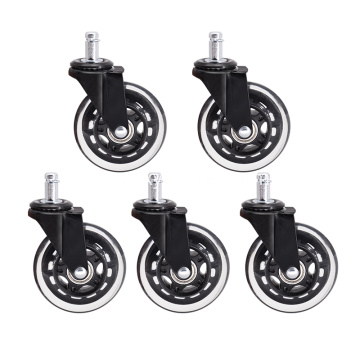 Office Chair wheels 3 inch Swivel