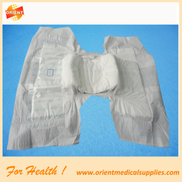 Disposable soft adult diapers
