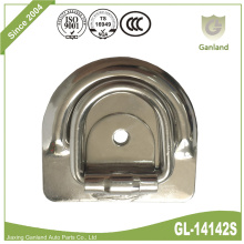 Stainless Steel Flush Mount Lashing D Ring