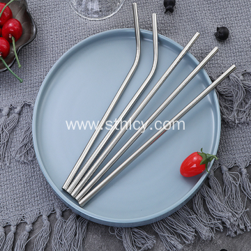 Creative 304 Stainless Steel Straw Set