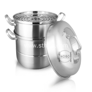 High Quality 3-Tier Multi Steamer