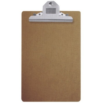 A4 Wooden ClipBoard