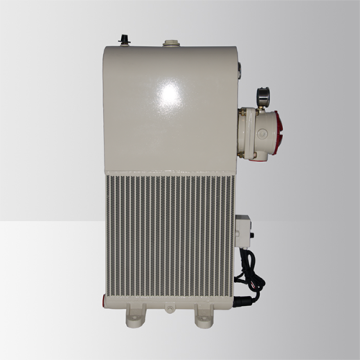 Brazed Aluminum Heat Exchanger with DC Motor Fan