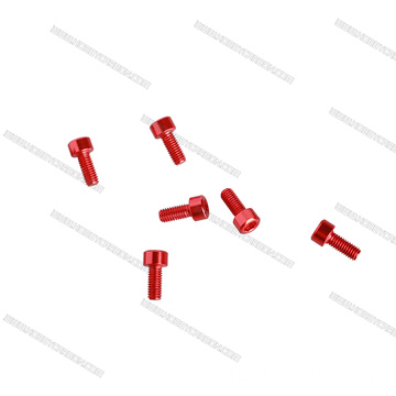 Custom anodized aluminum fasteners aluminium 7075 screws