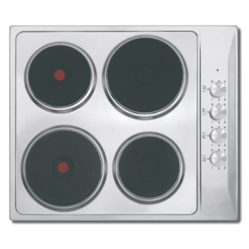 Stainless Electric Cooktop Electric 4 Cooker Zone