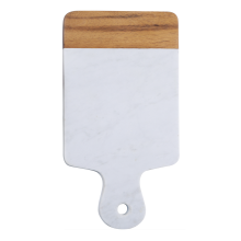 Marble cutting board with handle