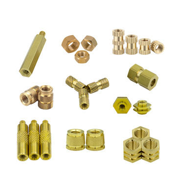 M2 M3 M4 M5 330 Pieces Female Brass Threaded Knurled Insert Embedment Nuts