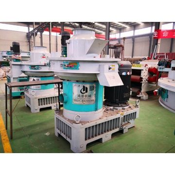 Vertical Ring Die Rice Husk Pellet Mill