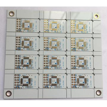 4 layer FR4 0.6mm Solder White EING PCB