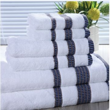 Customized Hotel cotton towel sets for hotel towel