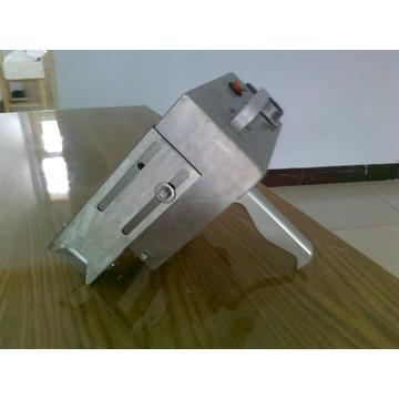 Mobile electric engraving machinery on metal