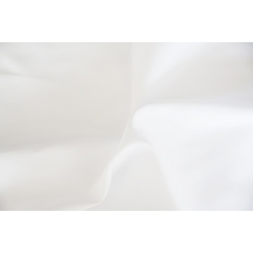 100% Polyester Alo Vera Treatment White Fabrics