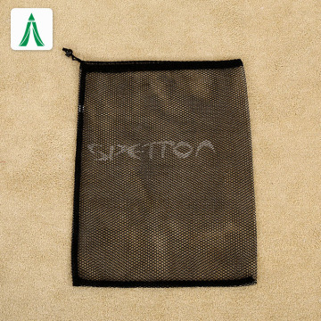 laundry wash bag Custom mesh black laundry bag