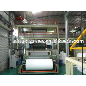 Nonwoven fabric making machine