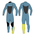 Seaskin Men's 3/2 Chest Zip Wetsuit For Surfing
