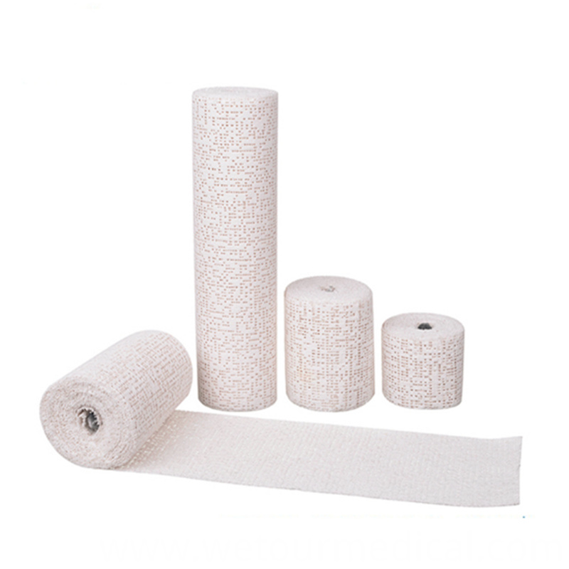 Disposable Self-Adhesive Gauze Bandage Rolls