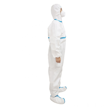 Sterile Isolation Medical Protective Coverall Clothing
