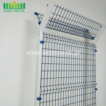High Security Anti Climb Metal Airport Fence