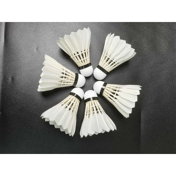 Excellent Quality Class1 Straight Goose Feather Badminton