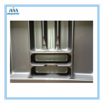 Kitchen Fittings Cutlery Tray in Plastic