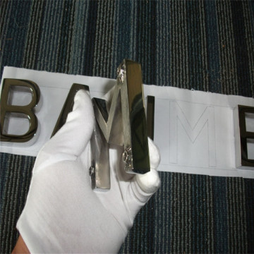 Custom Flat Cut Metal Letters Sign