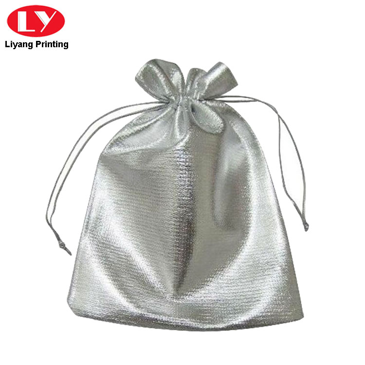 Silver Bag For Jewelry