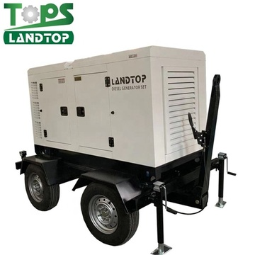 30kw/37.5kva Water Cooled Diesel Generator Portable Home Use