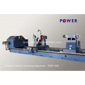 Grinding Machine for Rubber Roller Making