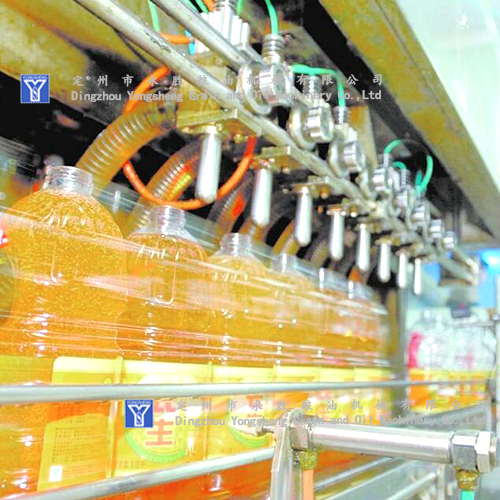 sesame oil filling Machine