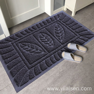 New anti-slip PVC backing clean step mat