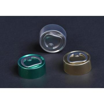 tear-off aluminium cap for infusion bottle
