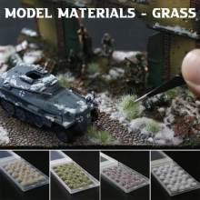 2020 DIY Model Building Kits Artificial Grass Flower Petal Garden Lawn Micro Landscape Decor Accessories Sandbox Game