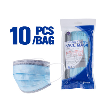 Hot Selling Hospital Disposable Medical Face Mask