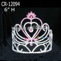 Pink Crystal Pageant Tiara Wholesale
