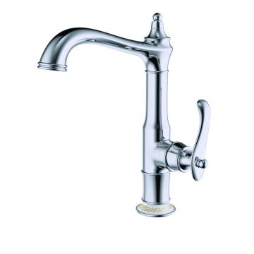 Quality brass single-handle kitchen faucet set