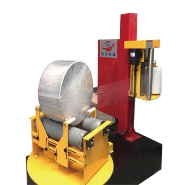 Pre-stretch Mini Paper Roll Stretch Wrapping Machine factory