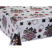 3D Laser Coating Tablecloth Holiday