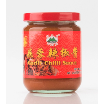 Garlic chili sauce for noodles