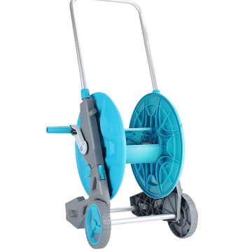 garden hose reel cart with wheels
