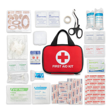 FDA/CE/ISO customized logo First aid survival kit