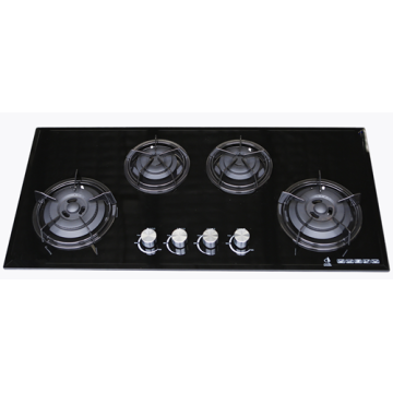4 Gas Stove with Glass Top