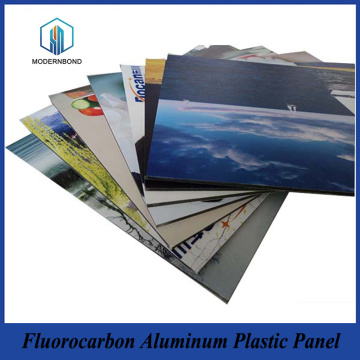 5mm Fluorocarbon Aluminum Plastic Panel Sheet